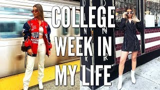 COLLEGE WEEK IN MY LIFE | exploring the upper west side (NYC) + my newest purchase