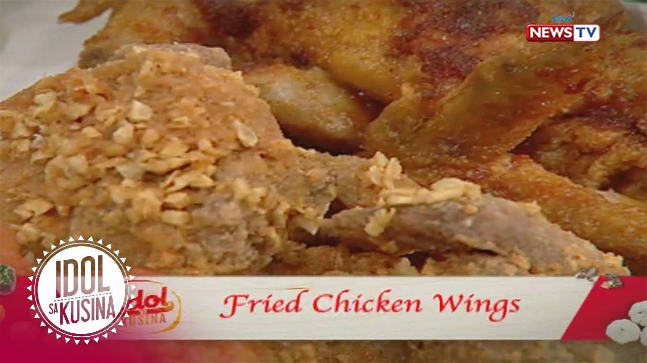 Idol sa Kusina: Fried Chicken Wings