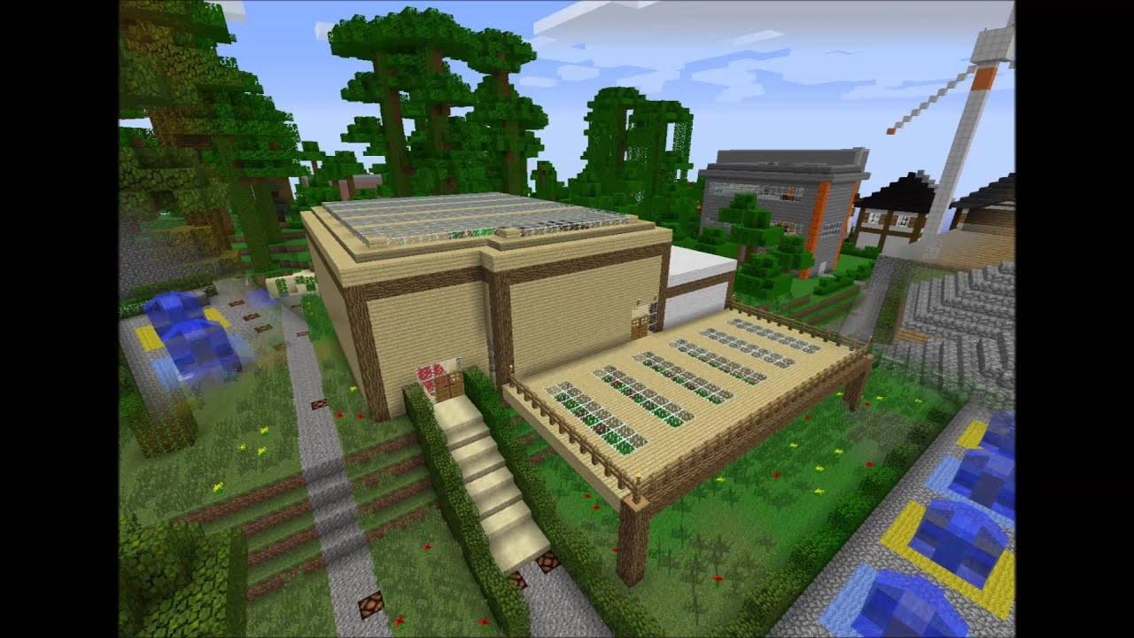 Minecraft bauideen und bilder von unserem server 1 youtube for Bauideen minecraft
