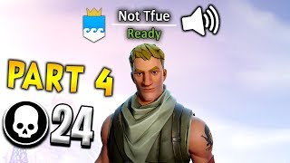 I Used a Voice Changer as Tfue on Fortnite... Part 4 (24 KILLS)