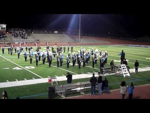 The Pueblo West High School Marching Band