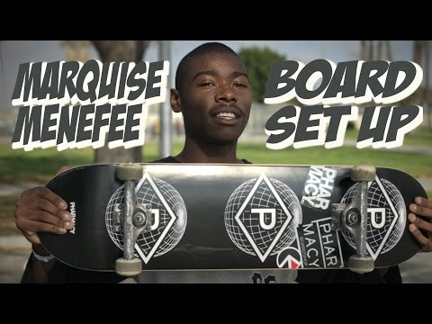 MARQUISE MENEFEE BOARD SET UP & INTERVIEW !!!