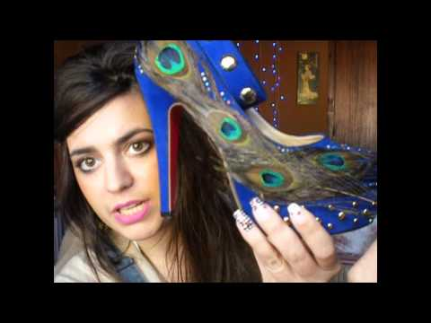 Decorando  zapatos!! vol.II