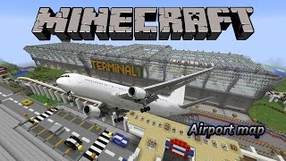 Minecraft Airport Map (Free Download)