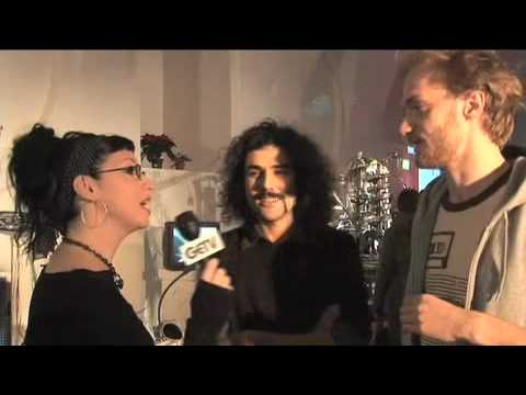 Werpbot at Roboexotica - Interview by Violet Blue