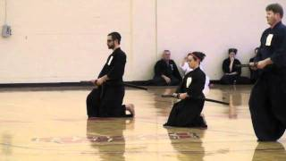 Sasha C, January 2011 Iaido Shinsa, NJIT