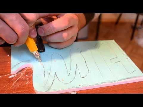 Буквы как резать своими руками