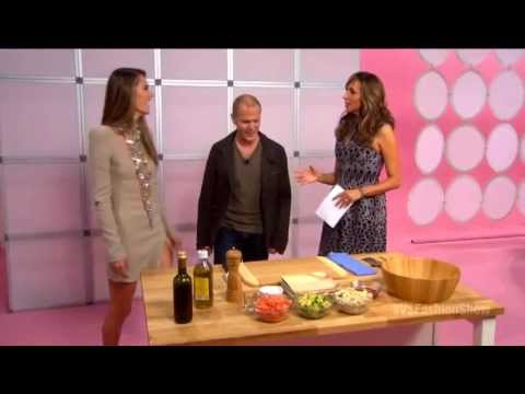 VSFS 2012: Cooking with Alessandra Ambrosio