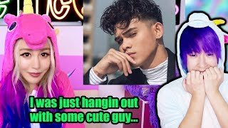 Max Reacts To Wengie's Reaction! SHE SAID WHAT?