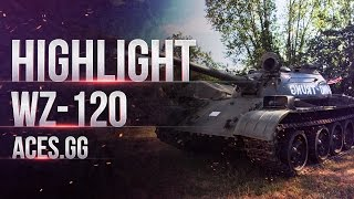 WZ-120 - жизнь без УВН в World of Tanks