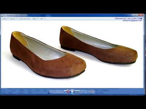 17a. Modelaje de calzado Dama - Capelladas tipo Valetas - con Rhinoceros 4.0 - JUCATEVE