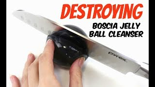 Destroying & Re-forming the Boscia Charcoal Jelly Ball Cleanser | THE MAKEUP BREAKUP