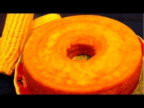 Clique e veja o vídeo Receita Bolo de Milho Verde Caseiro