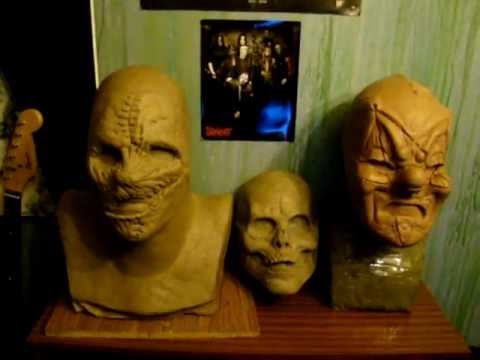 New Slipknot Mask Sculptures