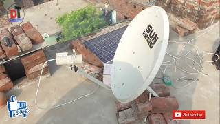 2 fit antenna pur | Asiaset 7 105.5°E c band satellite & Dish setting | channel list,