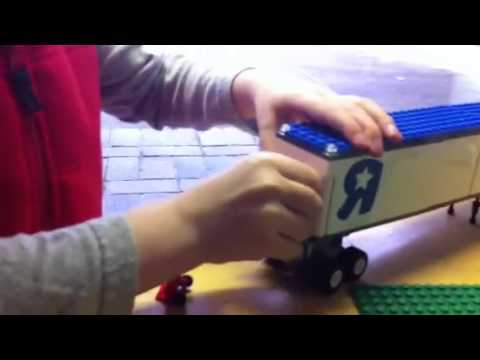 Nolan reviews Lego City Toys R Us Truck, Set #7848