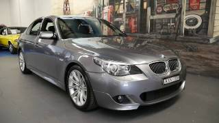 2008 BMW 530D M-Sport sedan with only 70,000 klms since new