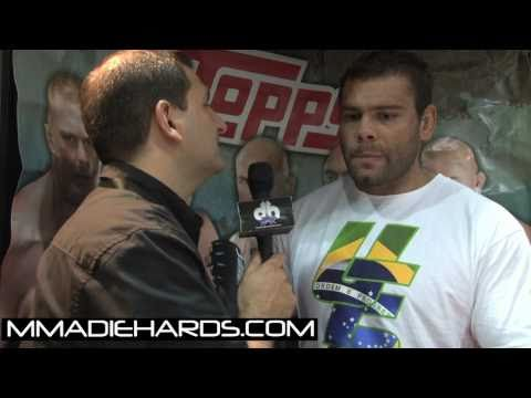 UFC 121's Gabriel Gonzaga talks Brendan Schaub, Career, and His Fans Image 1