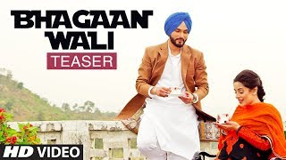 Song Teaser ► Bhagaan Wali | Viraj Sarkaria | Releasing 21 January 2018