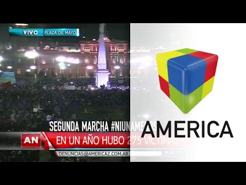#NiUnaMenos: una multitud se moviliza en todo el país contra la violencia de género