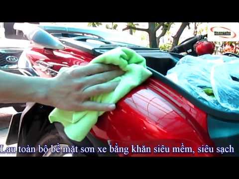Quy trình phủ nano sơn xe máy