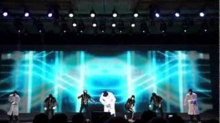 Dance crew Jabbawockeez kick off Qualcomm's CES 2012 keynote