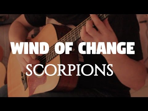 "Scorpions ""Wind Of Change"" on Fingerstyle by Fabio Lima"