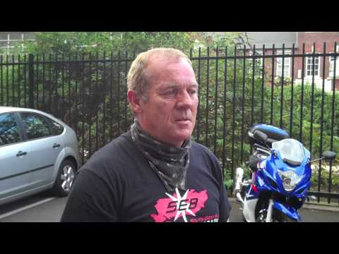 Tuesday 29/09/09 - Honda CBF600 & Meet Bill Video