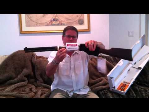Unboxing the Henry Repeating Arms Big Boy .44 Special Lever Rifle Gun