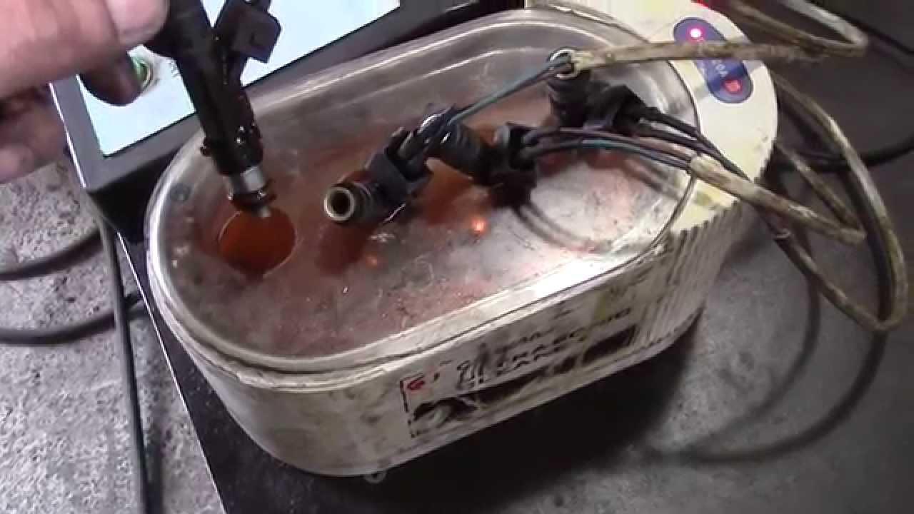 Промывка инжектора шеви нива своими руками