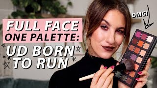 FULL FACE USING ONE PALETTE: Urban Decay Born To Run   Jamie Paige