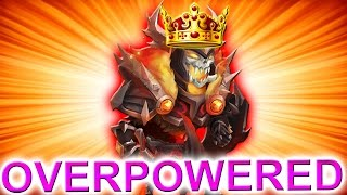 The Most Overpowered Hero In Castle Clash!!!