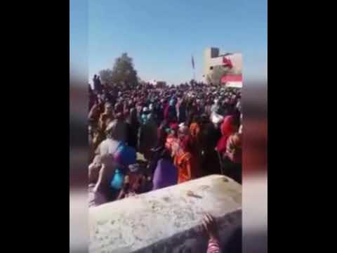 15 قتلى من النساء في الصويرة اثر التدافع - شاهد الفديو دقائق قليلة قبل الفاجعة #1