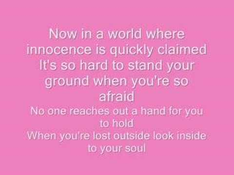 Voice Within-Christina Aguilera lyrics