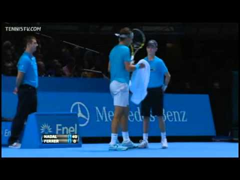 Rafael Nadal Vs David Ferrer Barclays ATP World Tour Finals 2013 Round-Robin Full Match