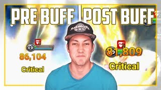 Pre-Buff Pungbaek Vs Post-Buff Pungbaek | Summoners War