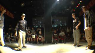 Tomoki & HASE vs Mo'Higher (HOAN & JAYGEE) BEST16 POP / WDC 2015