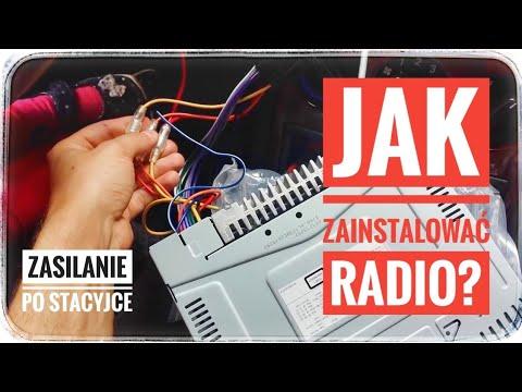 Instalacja Radia Samochodowego - Car Radio Installation - OPEL ASTRA G 2 II