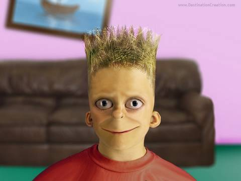 Reality Simpsons: Bart Simpson as a Real Person