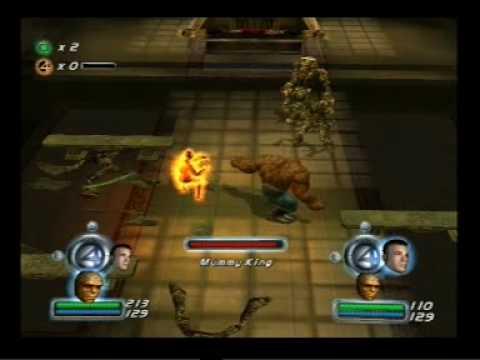 fantastic four gameplay