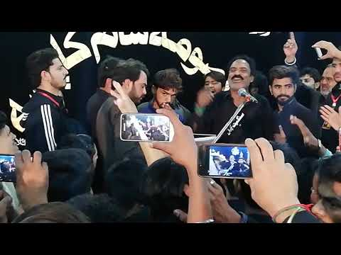 Ustad Abid Nasir Hussain Naib E Mustafa Hay Best Live  Noha