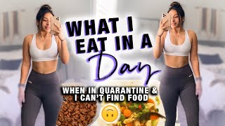 Realistic What I Eat in a Day w/ LIMITED FOOD