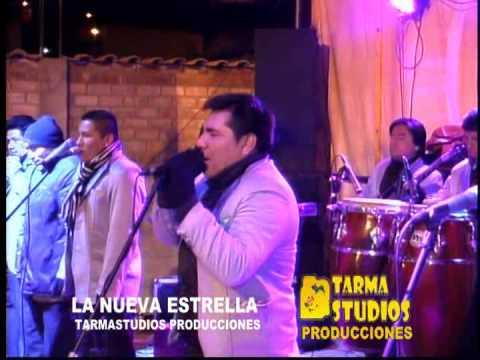 LA NUEVA ESTRELLA -  ♫♫♪♪♪♥ZAPATITO BLANCO♥ EN VIVO TARMA - PALCAMAYO