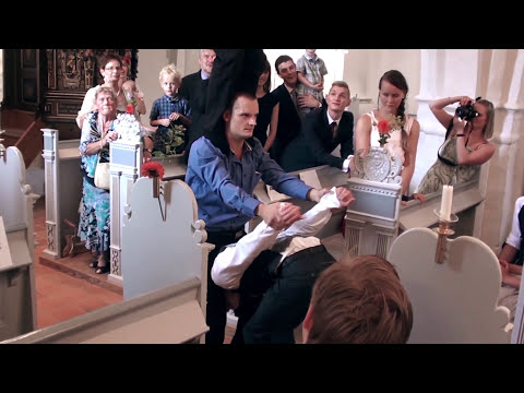 Wedding Flash Mob in Church