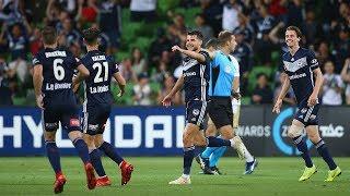 Hyundai A-League 2018/19 Round 13: Melbourne Victory 2 - 1 Newcastle Jets
