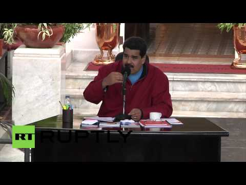 Venezuela: 'U.S uses oil as political weapon against Russia'' -Maduro