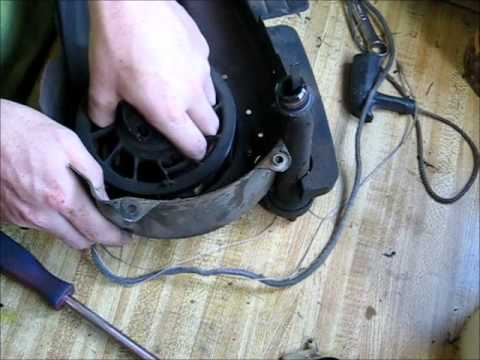 Small Engines How To: Replace A Pull Start Cord