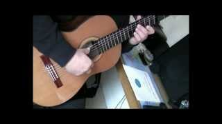 "Coldplay ""Trouble"" Classical Guitar"