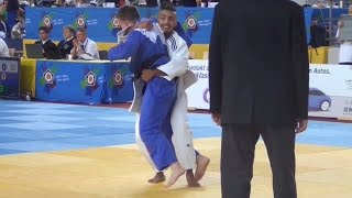 Junior European Judo Cup Berlin 2015  -60 kg Quarter-Final Khyar (FRA) - Miles (GBR)