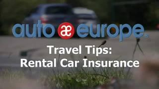 Travel Tips: Rental Car Insurance Explained